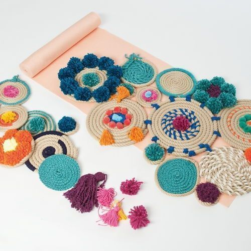Manualidades con cuerda para decoraci n boho chic decomanitas - Manualidades faciles decoracion ...