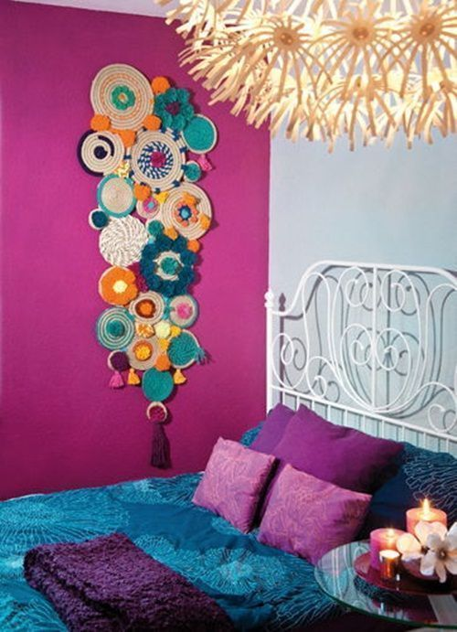 Manualidades con cuerda para decoraci n boho chic decomanitas - Manualidades recicladas para decorar ...