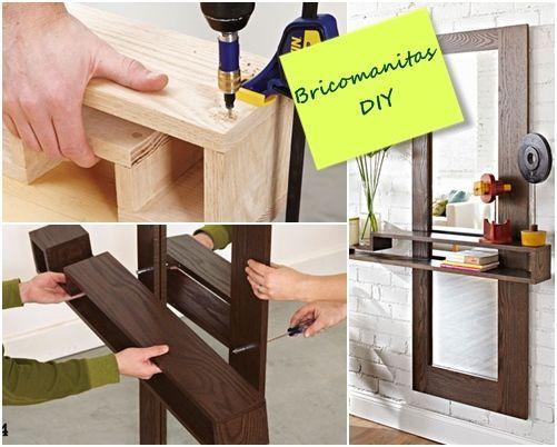 DIY mueble funcional para decorar la entrada de casa 5 Decomanitas