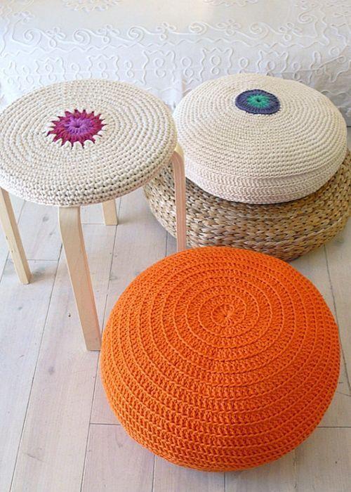 Ideas En Crochet Para Decorar La Casa Decomanitas