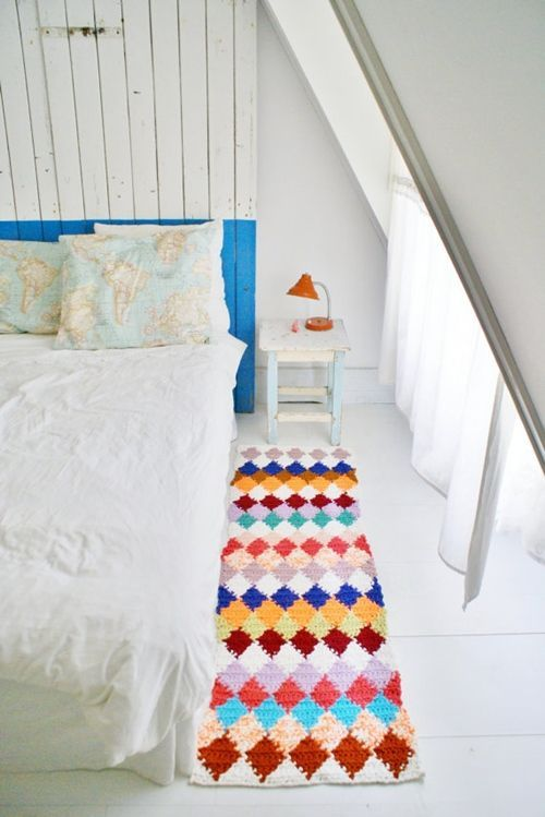 Ideas en crochet para decorar la casa decomanitas - Ideas para decorar la casa ...