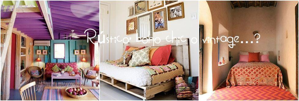 Decoracion vintage muebles con palets y reciclados ideas for Muebles para recamara vintage