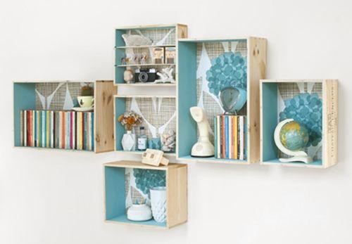 Tutorial c mo decorar con cajas de madera decomanitas - Como decorar madera ...
