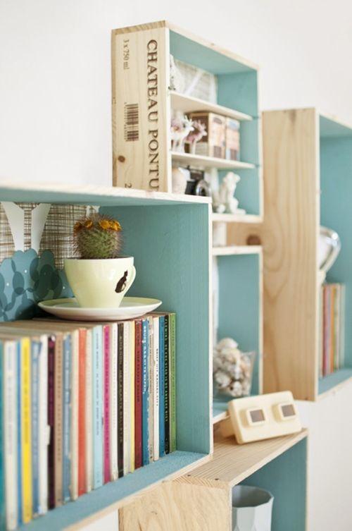 Tutorial c mo decorar con cajas de madera decomanitas - Voor na deco ...