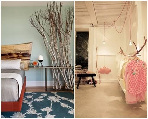 Ideas para decorar con ramas secas 10 decomanitas - Ramas secas para decorar ...
