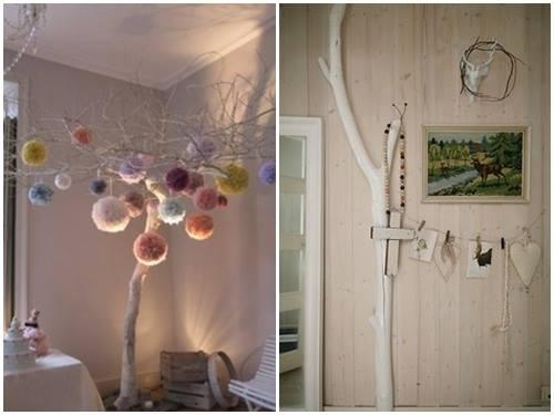 Ideas para decorar con ramas secas decomanitas - Decoracion con ramas de arboles ...