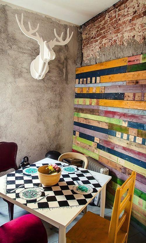 Mueble reciclado para una decoracion joven y divertida - Decoracion vintage reciclado ...