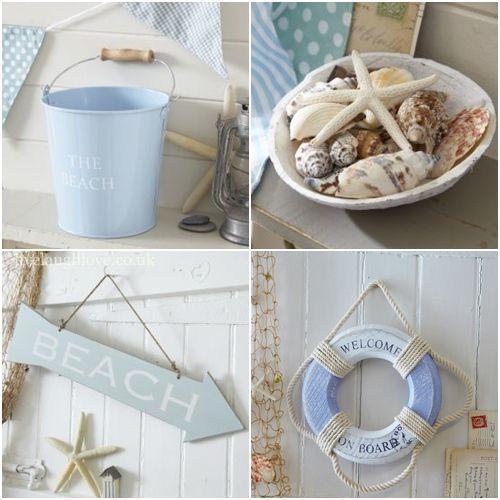 Decorar la casa de playa objetos para acentuar el estilo for Objetos para decorar cocinas