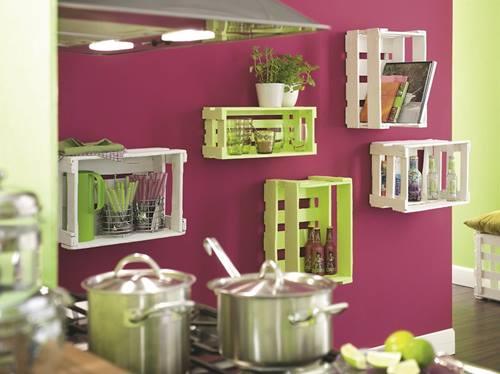 Ideas de decoracion con cajas de madera para fruta - Como decorar cajas de madera de fruta ...