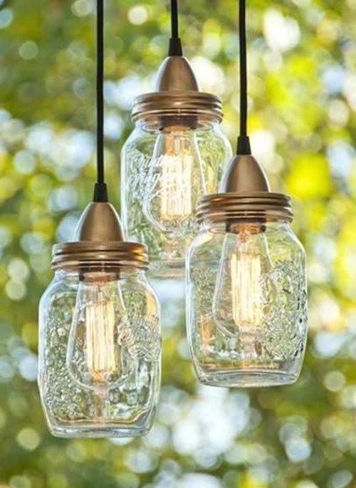 Ideas con DIY de vidrio para tarros decorar lámparas J1c3lFTK