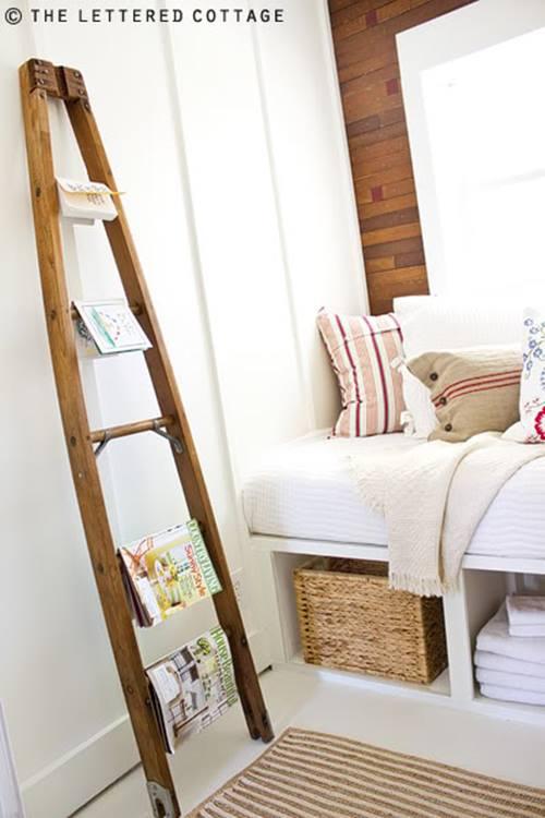 Reciclar para decorar viejas escaleras de madera - Escaleras de madera pintor ...