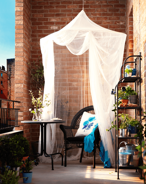 Ideas para decorar terrazas y balcones decomanitas - Decoracion balcones ...