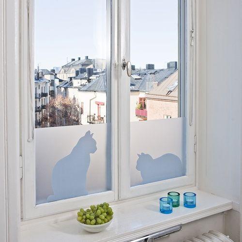Vinilos adhesivos para decorar ventanas decomanitas - Vinilos puertas ikea ...