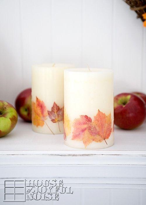 C mo hacer velas decorativas para oto o decomanitas - Vallas decorativas para jardin ...