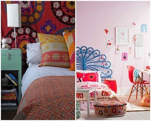 Qu es boho chic en decoraci n de interiores decomanitas for Muebles hippies