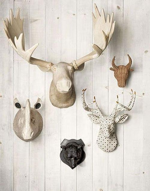 Ideas para decorar paredes con trofeos de caza decomanitas for Ar 15 decorations