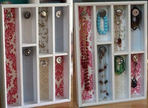 Ideas para hacer un colgador de collares de pared decorando decomanitas - Colgador de collares ikea ...