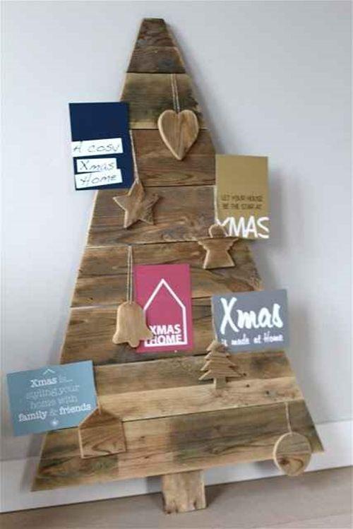 Manualidades Para Navidad Arboles De Navidad Originales Con Palets 4 - Manualidades-palets