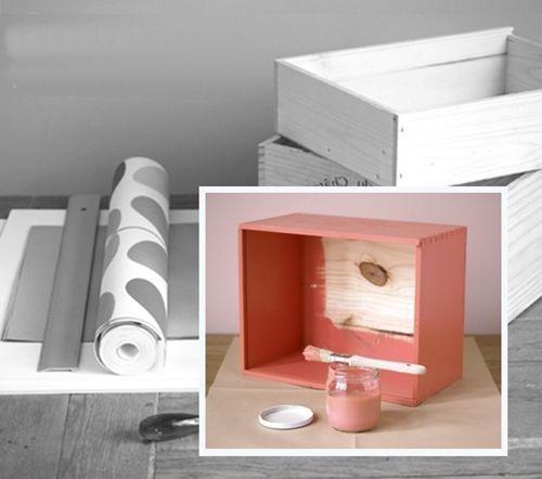 C mo decorar cajas de madera de vino para hacer - Como hacer estanterias de madera ...