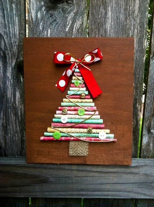 Como hacer un arbol de navidad original y alternativo 5 - Como hacer un arbol de navidad blanco ...