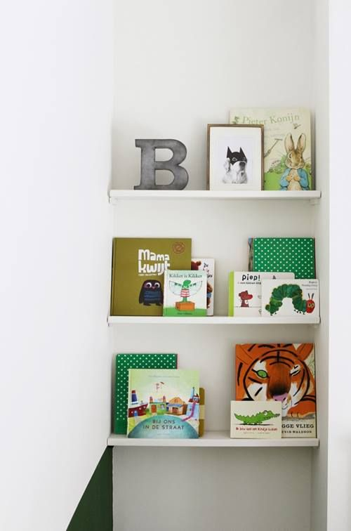 Repisas Modernas Para Libros En Habitaciones Para Ni 241 Os
