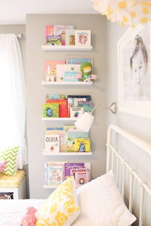 Repisas Modernas Para Libros En Habitaciones Para Ninos