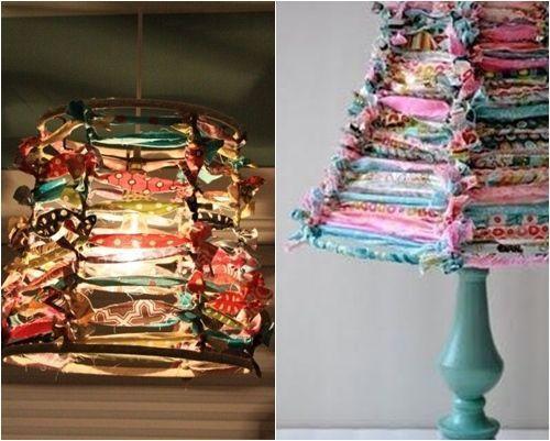 C mo hacer pantallas para l mparas originales decomanitas - Pantallas de lamparas ...