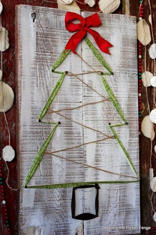 Como hacer un arbol de navidad facil 5 decomanitas - Como hacer un arbol de navidad blanco ...