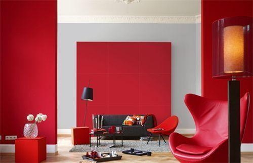 Significado de colores azul rojo verde blanco en for Decoracion de murallas interiores