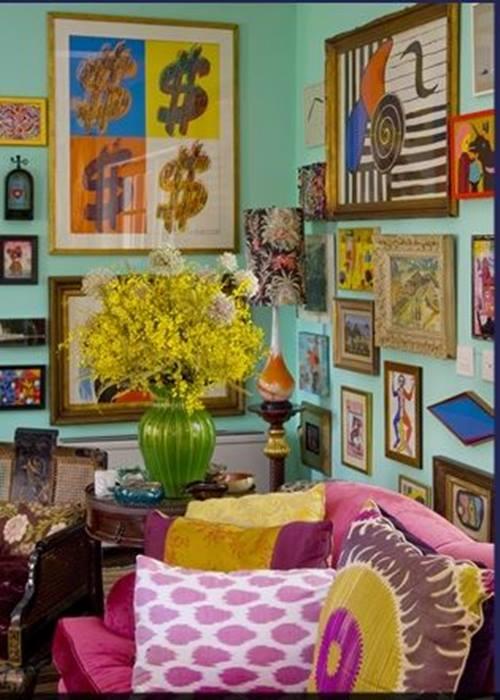 ideas de inspiración boho-chic para decorar la casa  Decomanitas