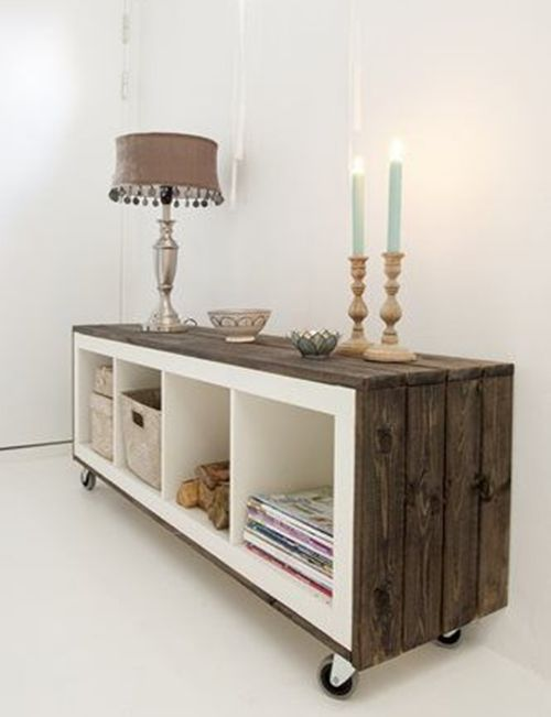 C mo transformar muebles ikea tunear estanter as ikea - Ideas para decorar muebles ...