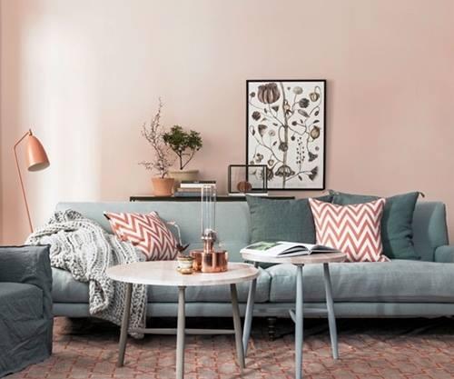 La decoraci n de interior en color rosa palo es tendencia - Habitacion rosa palo ...