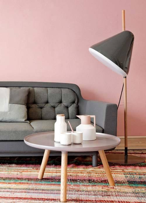 la decoraci n de interior en color rosa palo es tendencia absoluta decomanitas. Black Bedroom Furniture Sets. Home Design Ideas
