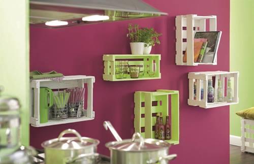 Nuevas ideas para pintar cajas de madera y reutilizarlas - Ideas para pintar casa ...