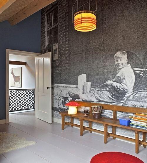 C mo decorar paredes originales con fotomurales de - Paredes originales ...