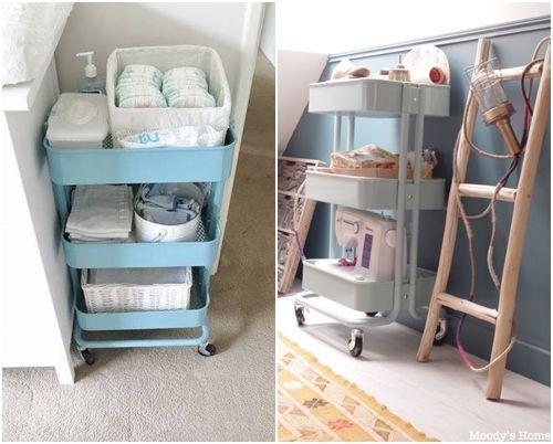 C mo transformar camareras de cocina ikea raskog en - Ikea muebles de cocina ...
