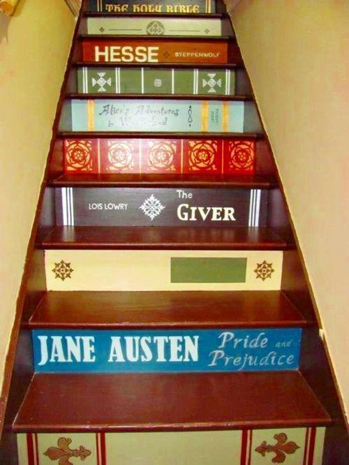 Decorar escaleras con ideas creativas para hacer tú mismo ...