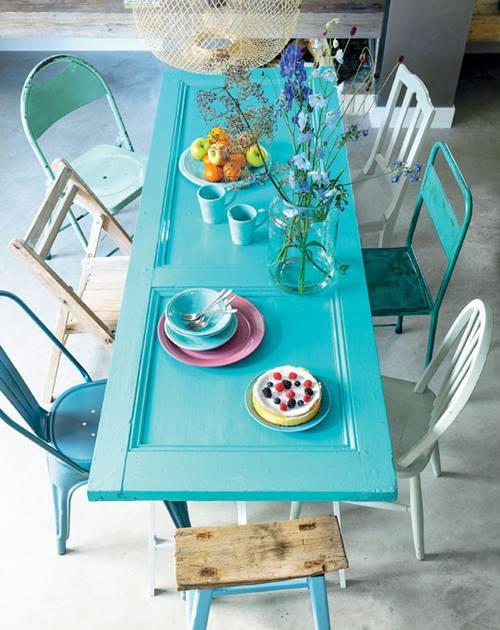 Ideas para reciclar muebles: mesas, espejos y cabeceros a ...