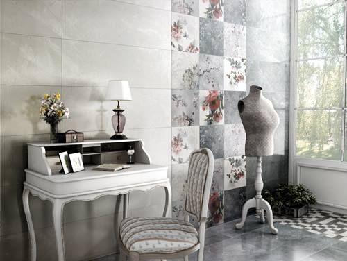 Tendencias en revestimientos qu baldosas y azulejos - Azulejos vintage cocina ...