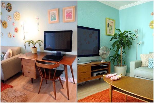 C mo es la decoraci n retro con muebles mid century for Decoracion retro pop