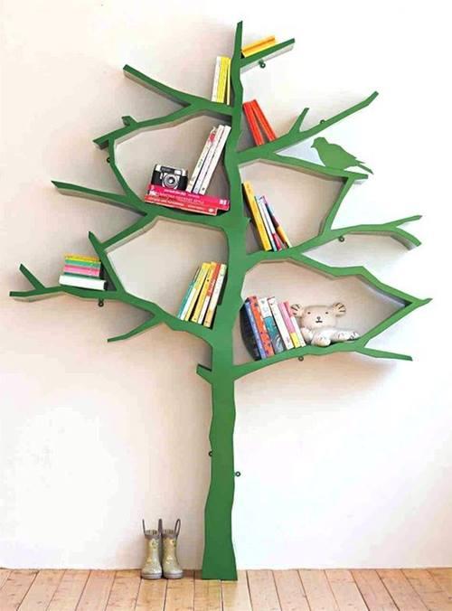 Estanter as originales para libros en forma de rbol 3 - Estanterias originales para libros ...