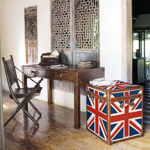 Muebles vintage ideas para decorar tu casa con ba les - Decoracion con baules ...