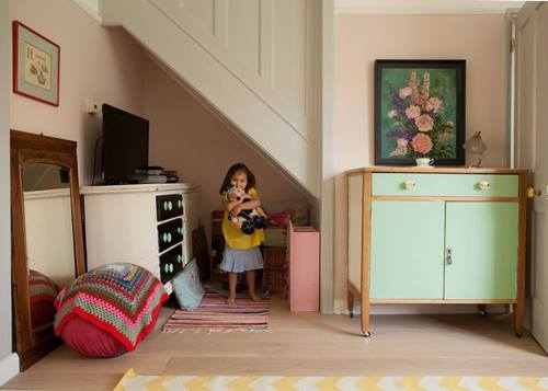 Decoraci n vintage para una casa que parece de caramelo Paginas de decoracion de casas