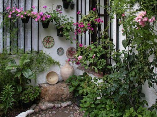 Los patios de c rdoba m s bellos otra vez en flor - Patios con macetas ...