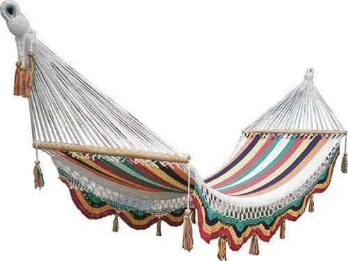 Muebles de jardín con efecto relax: hamacas, columpios, mecedoras… - Decomanitas