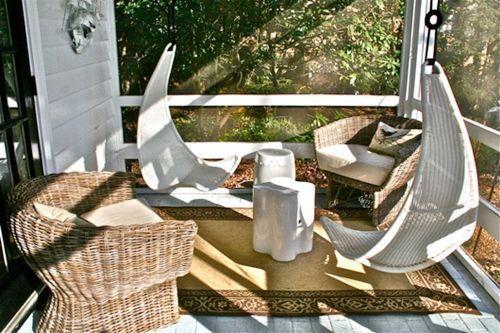 Muebles de jard n con efecto relax hamacas columpios - Mecedoras de jardin ...
