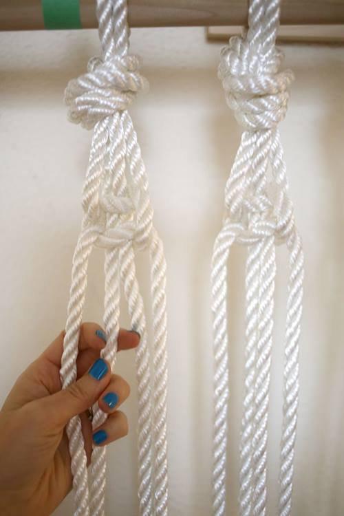 C mo hacer cortinas de macram paso a paso decomanitas - Como coser cortinas paso a paso ...