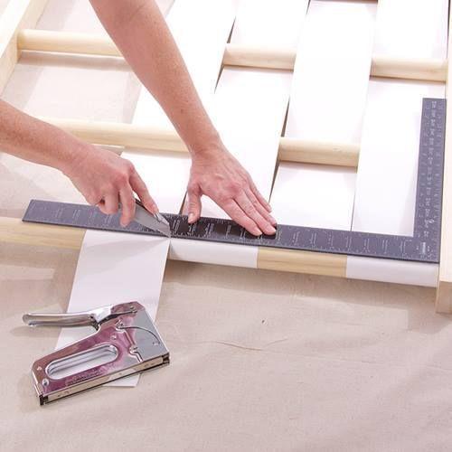 Cabeceros de cama originales para hacer con tiras - Hacer cabecero cama ...