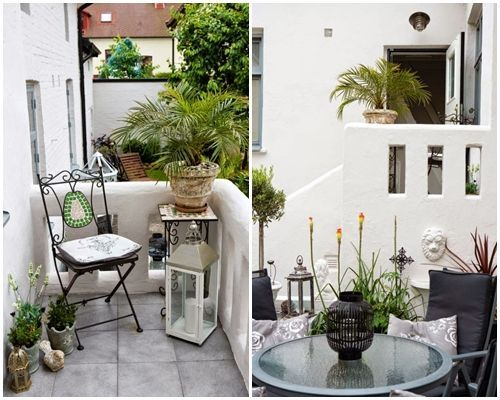 Ideas de decoraci n inspiradoras para porches jardines y - Ideas para decorar un porche pequeno ...
