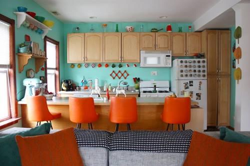 Una casa con decoraci n retro llena de detalles for Decoracion retro pop